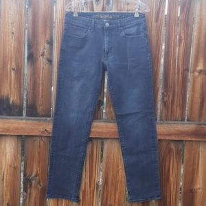American eagle slim straight mens jeans sz 31 gray